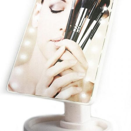 Make-up spiegel met verlichting en touchscreen